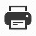 Printer icon, link to PDF